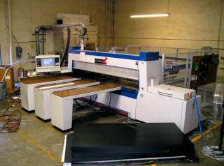 Schelling Panel Saw Installation